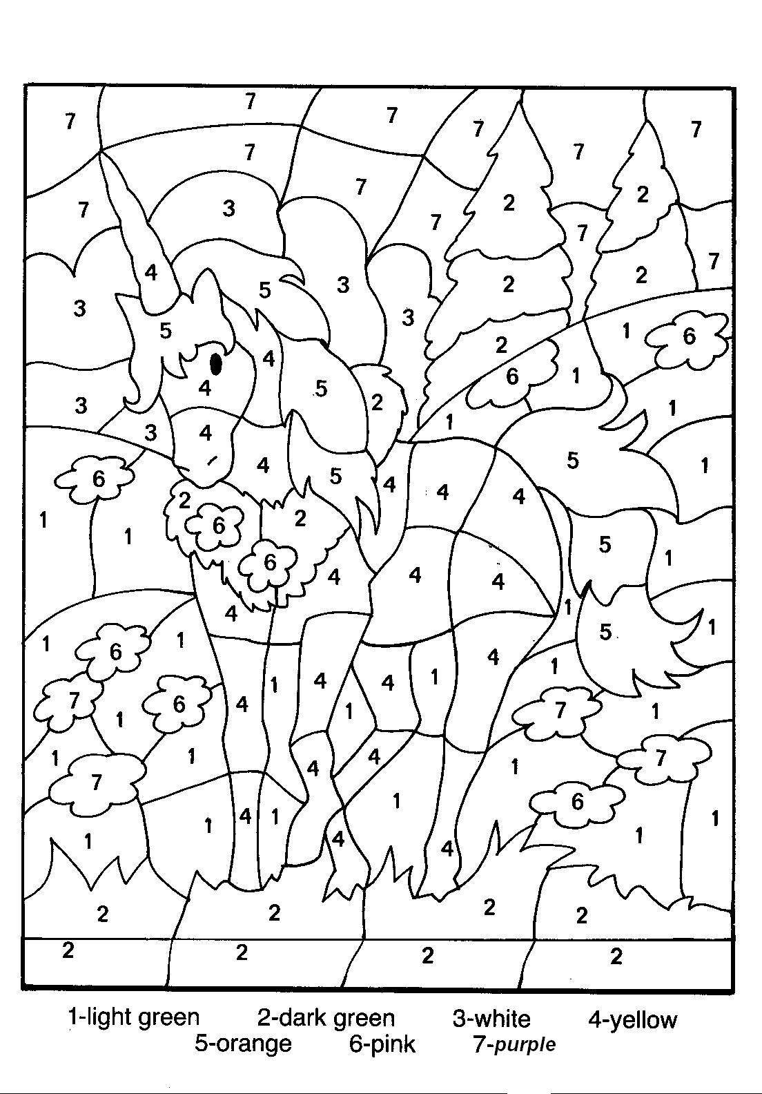 coloring by number free printable color by number coloring pages best by number coloring