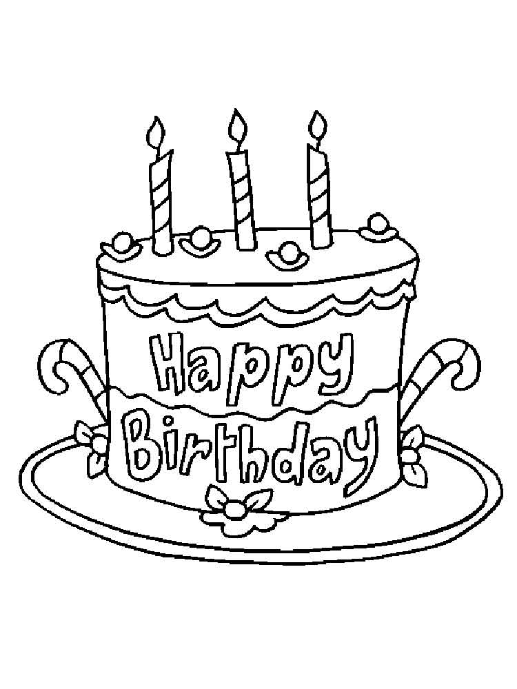 coloring cake pages birthday cake coloring pages free printable birthday cake coloring pages cake