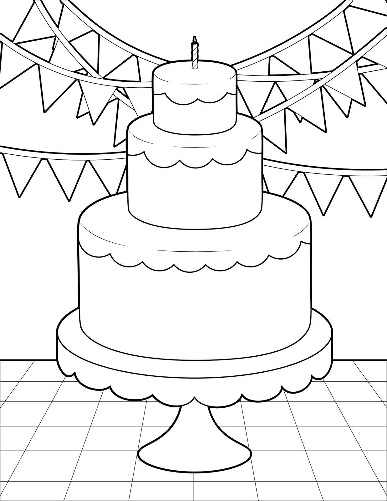 coloring cake pages unicorn cake coloring pages transparent cartoons cute pages cake coloring