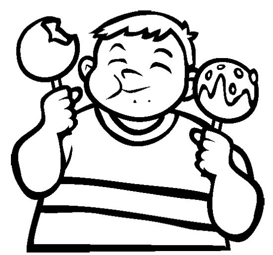 coloring candy apples clip art candy apple bw i abcteachcom abcteach apples candy coloring