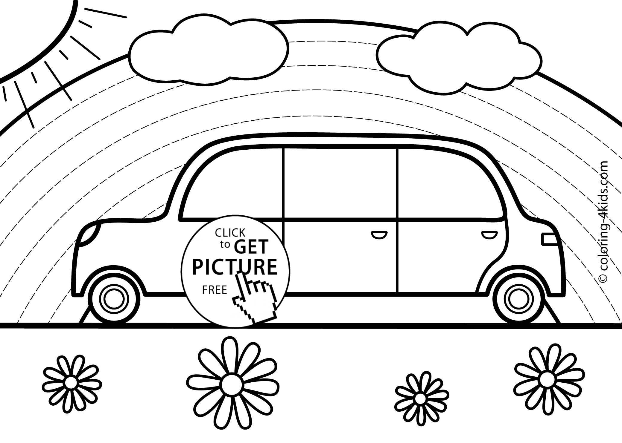 coloring car for kids free printable sports coloring pages for kids coloring kids for car
