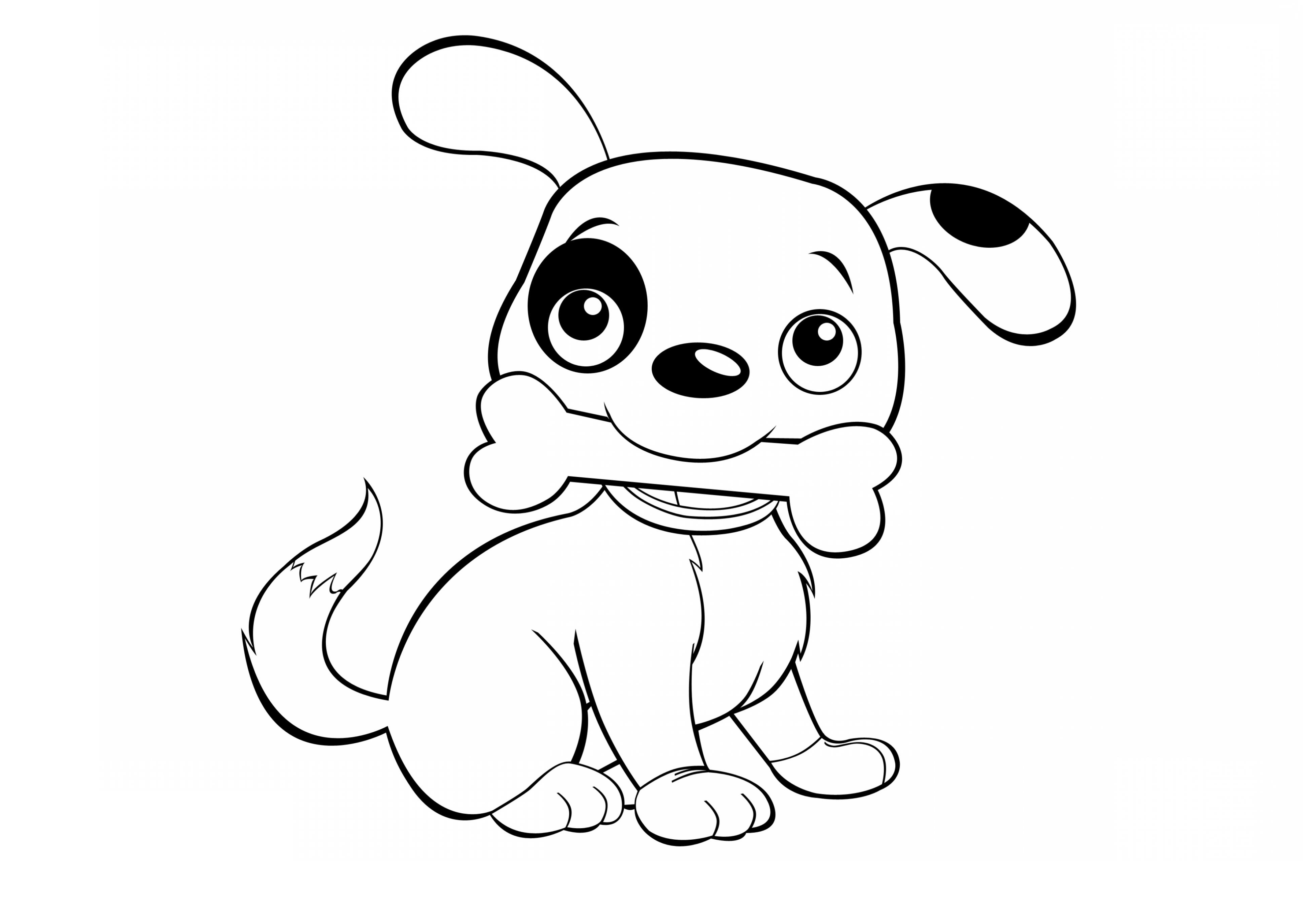 coloring cartoon dog cute dog coloring pages to download and print for free cartoon coloring dog