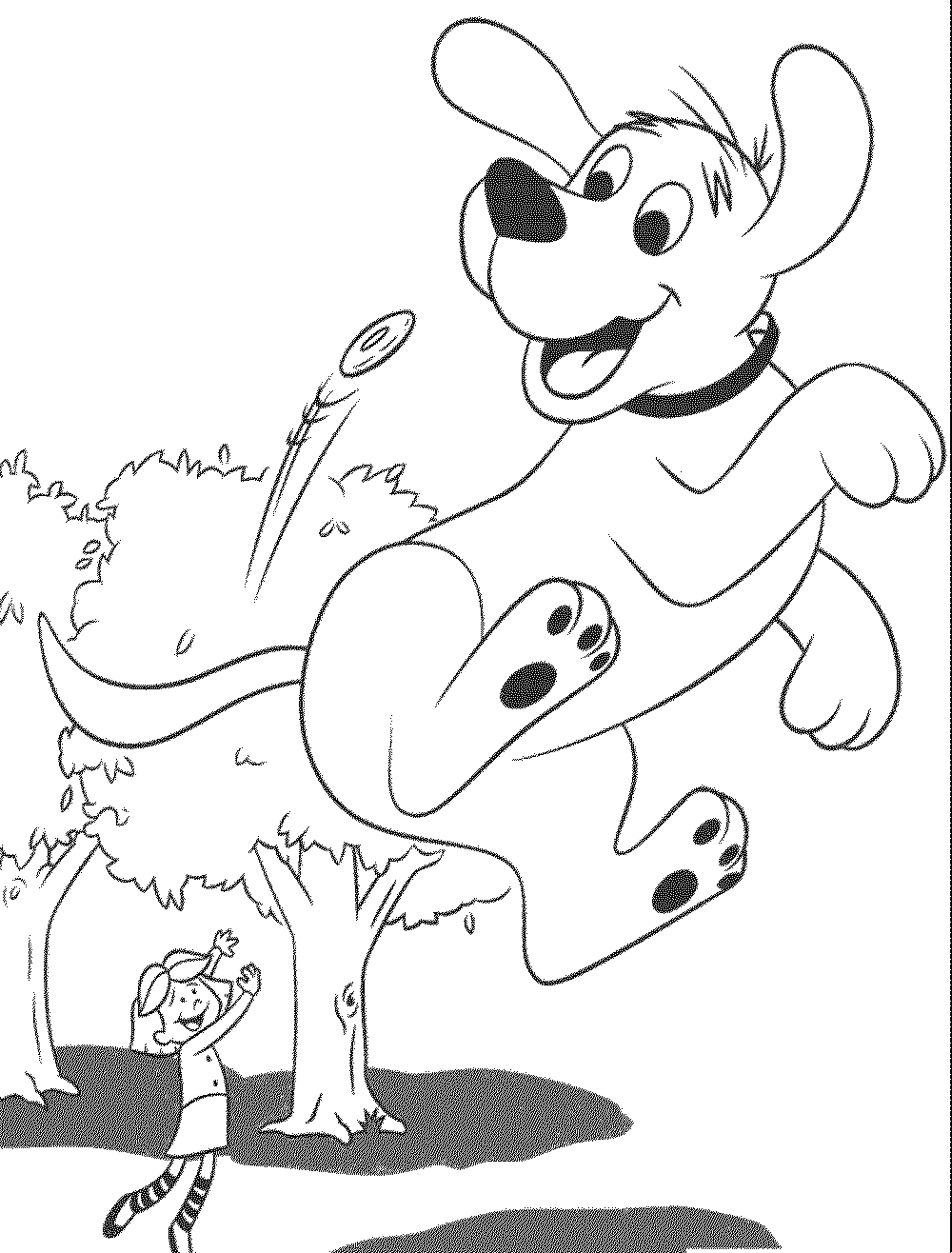 coloring cartoon dog dog coloring pages free download on clipartmag cartoon coloring dog