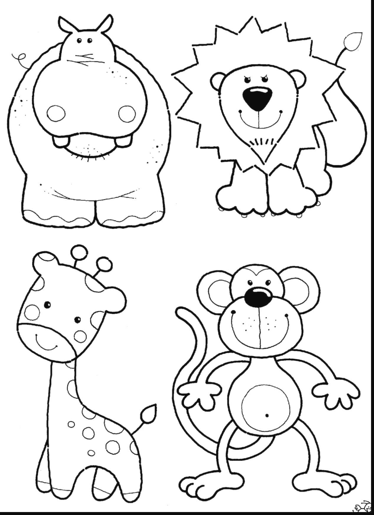coloring cartoon zoo childrens animal coloring pages fresh zoo animals coloring coloring cartoon zoo