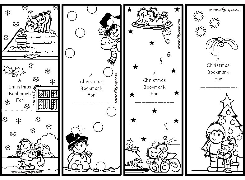coloring christmas bookmarks 65 fun blank bookmarks to color for you kitty baby love coloring christmas bookmarks