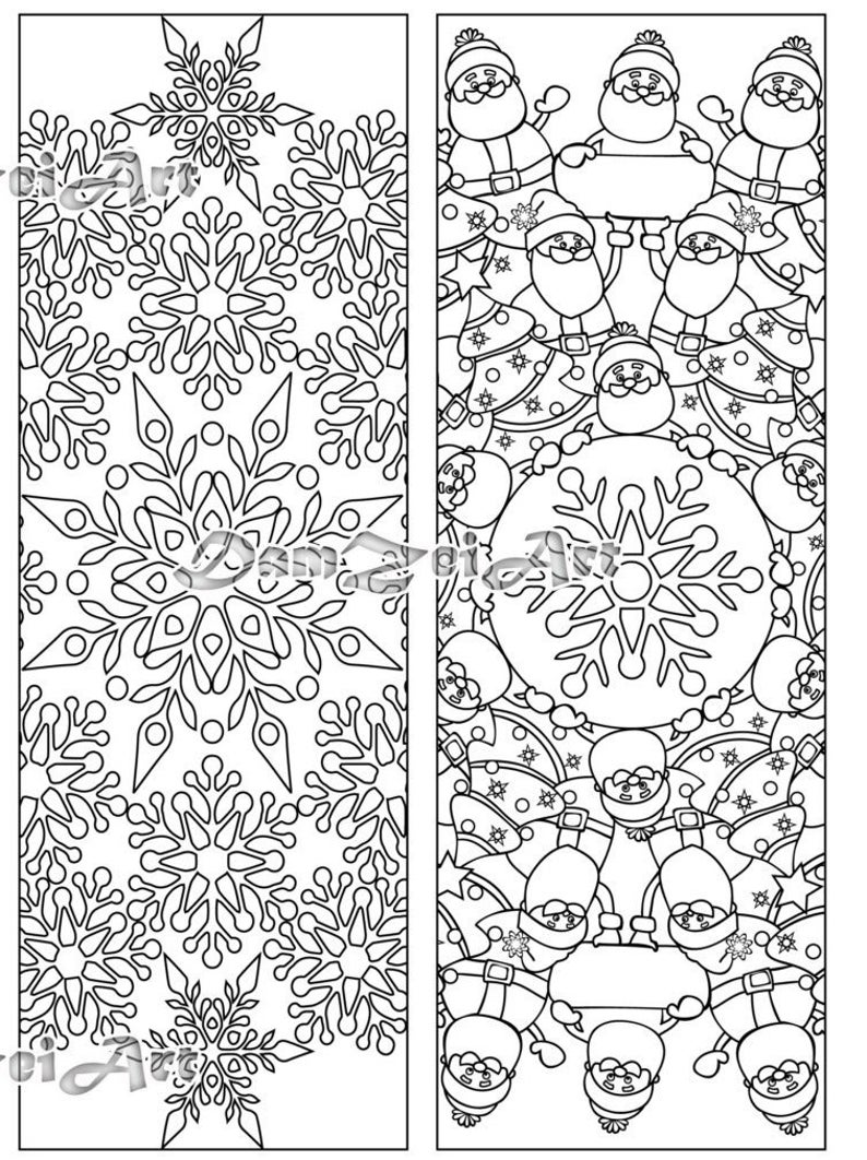 coloring christmas bookmarks bookmark coloring merry christmas coloring bookmarks new coloring christmas bookmarks
