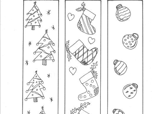coloring christmas bookmarks christmas bookmarks to colour teaching resources coloring christmas bookmarks