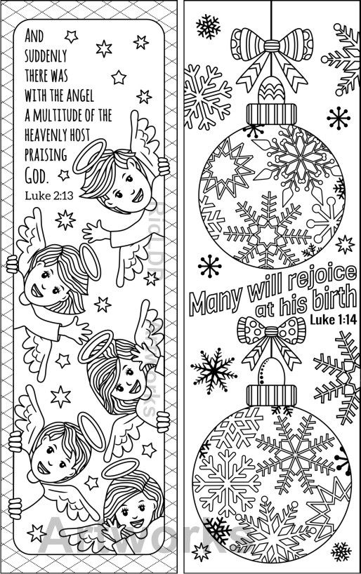 coloring christmas bookmarks pin on bookmarks bookmarks christmas coloring 1 1