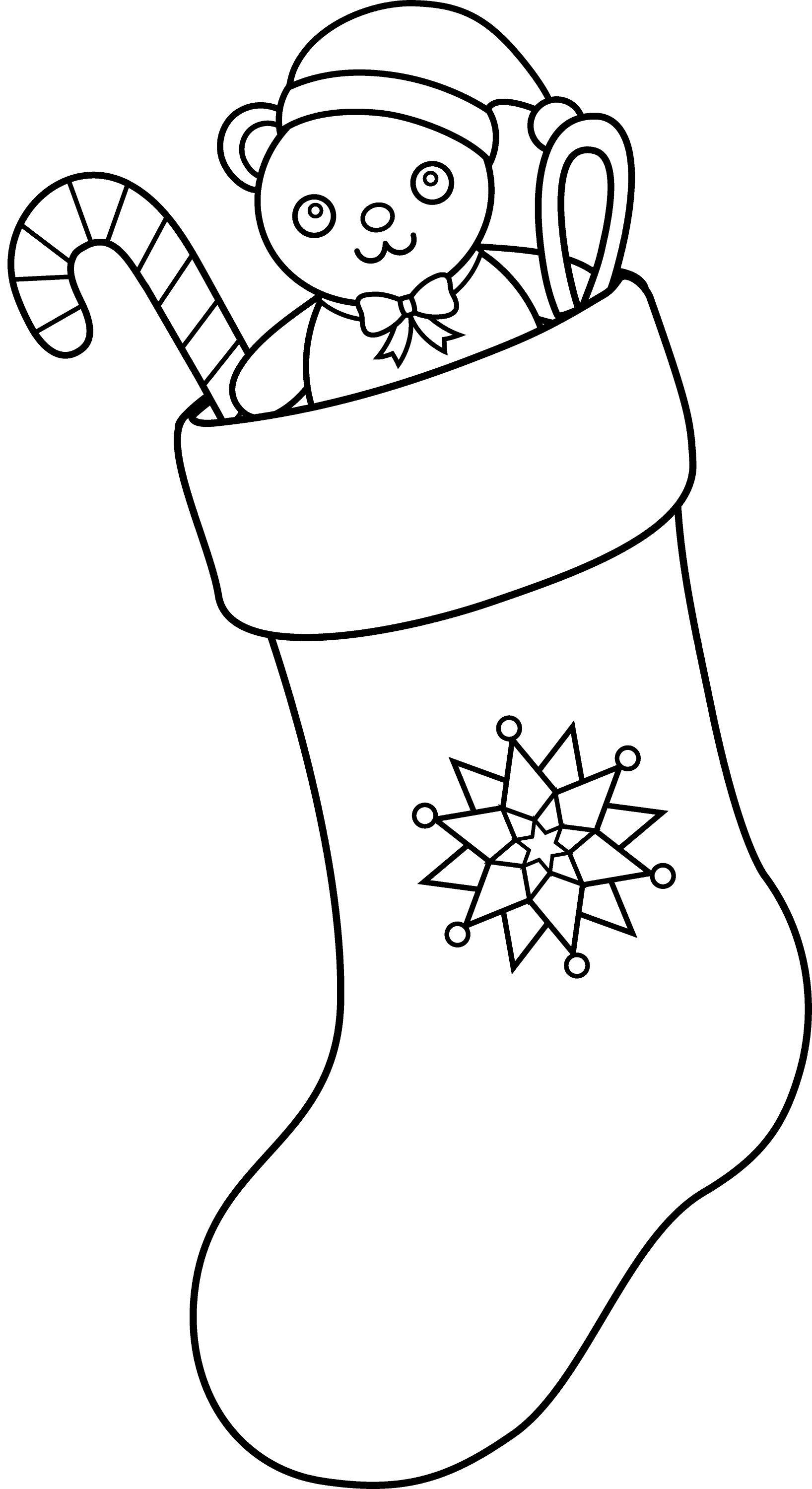 coloring christmas clipart black and white christmas bear coloring page coloring home black and coloring clipart white christmas