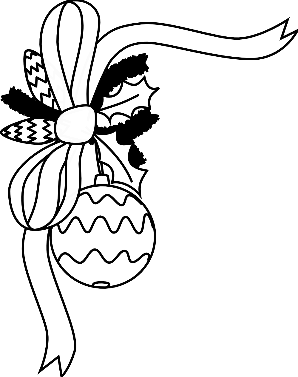 coloring christmas clipart black and white christmas clipart black and white clipartioncom black white christmas and clipart coloring