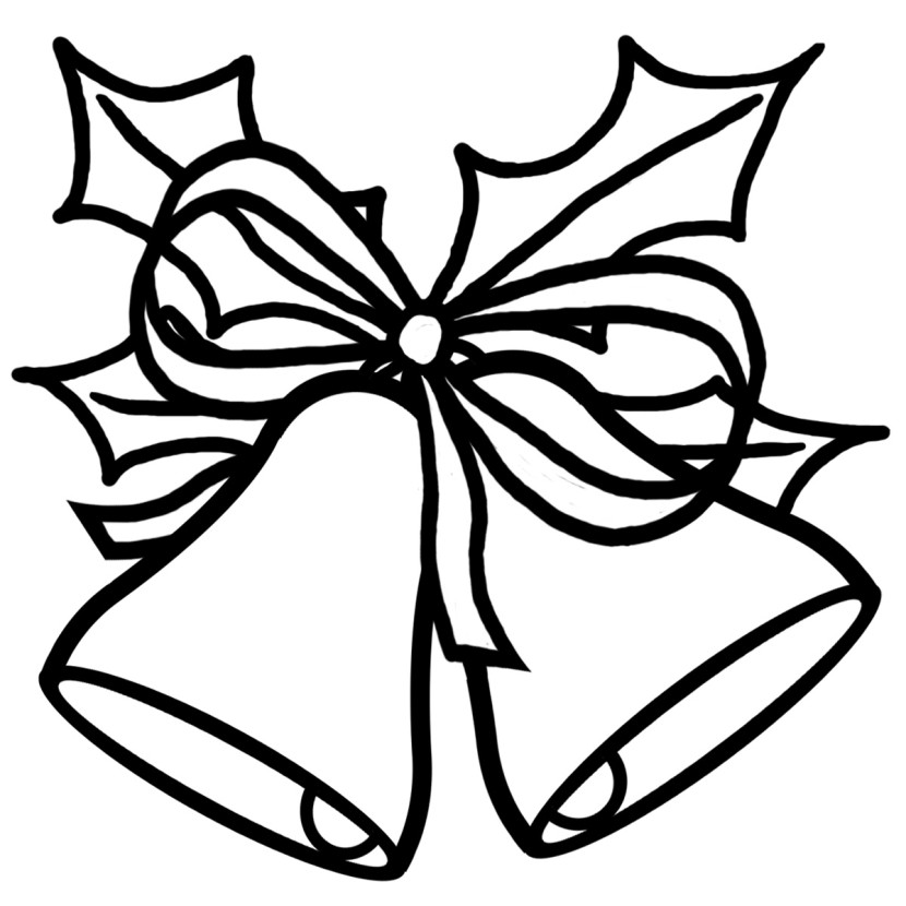 coloring christmas clipart black and white santa claus with christmas tree coloring pages coloring clipart and white black coloring christmas