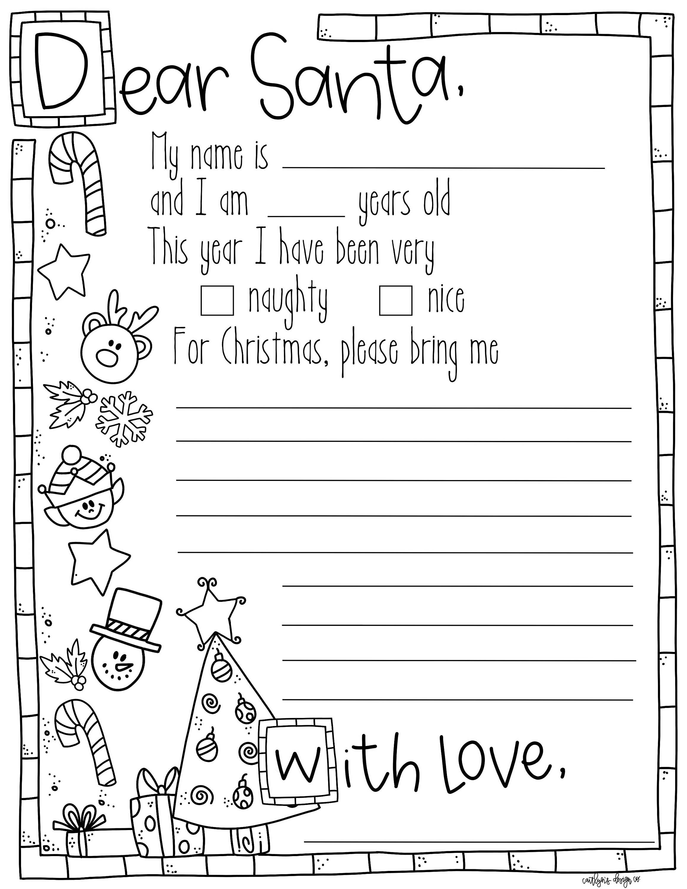 coloring christmas list for kids 0to5 com au christmas wish list stocking template suitable for coloring list christmas kids