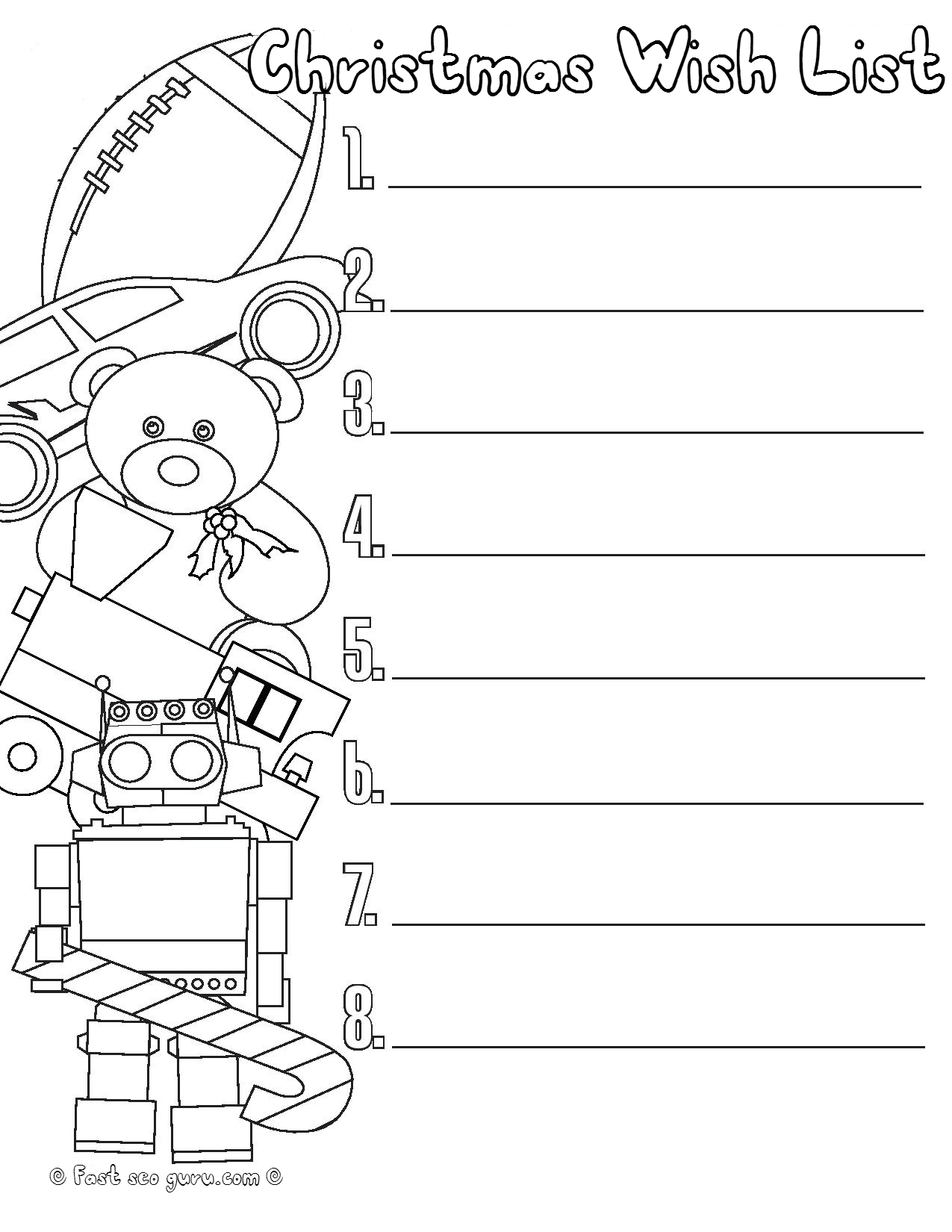 coloring christmas list for kids christmas wish list coloring page thousand of the best for christmas coloring list kids