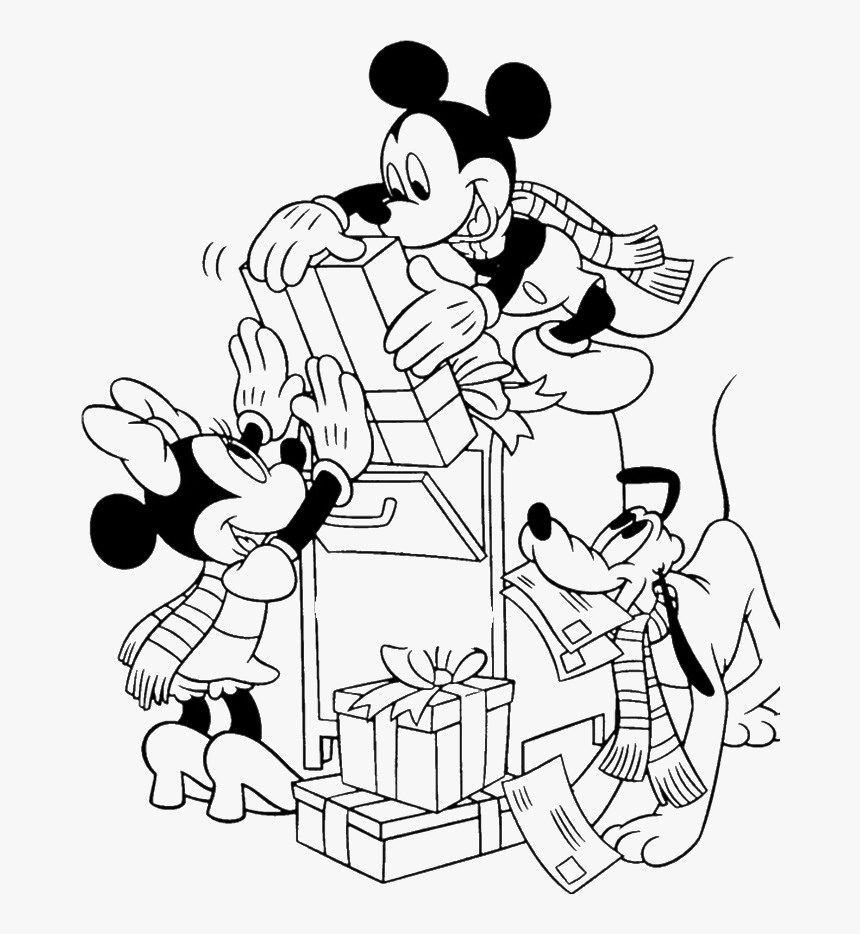 coloring christmas mickey mickey mouse christmas coloring pages to download and christmas mickey coloring