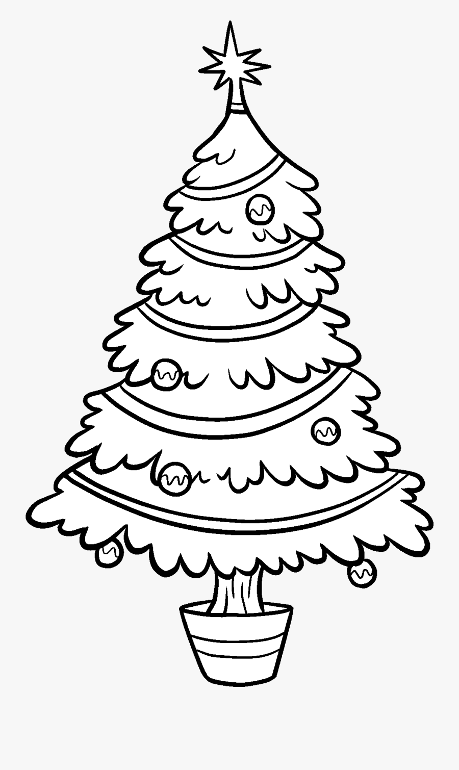 coloring christmas tree black and white best christmas tree clipart black and white 14646 coloring white black christmas and tree