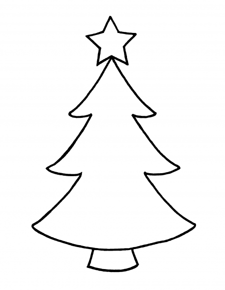 coloring christmas tree black and white christmas tree black and white coloring page christmas tree white coloring black and