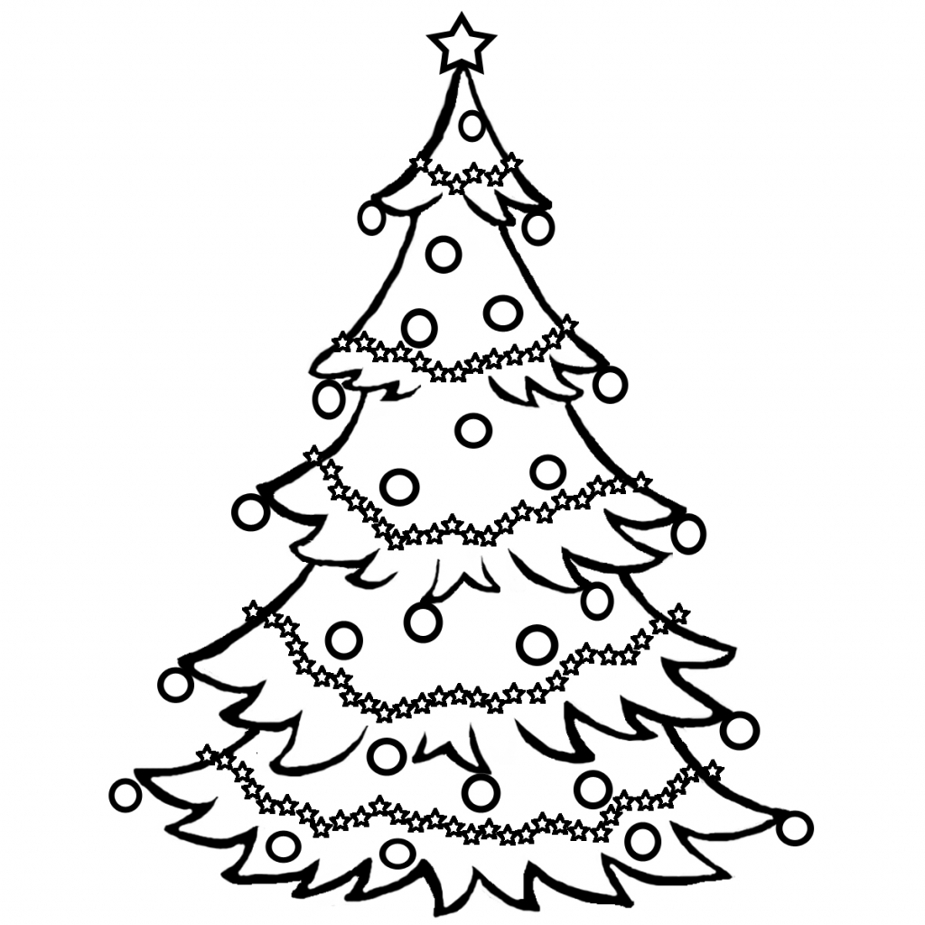 coloring christmas tree black and white christmas tree lights coloring pages at getcoloringscom coloring christmas white tree and black