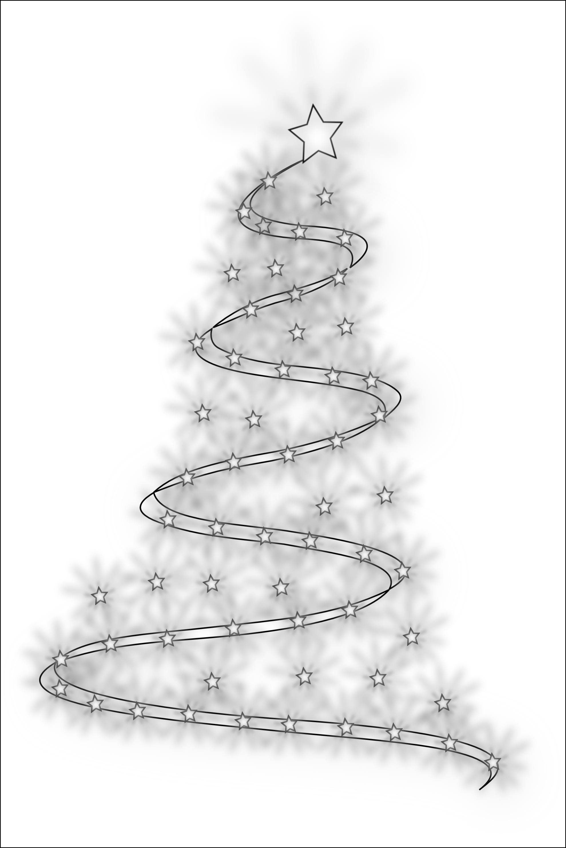 coloring christmas tree black and white outline of christmas tree clip art 20 free cliparts white black tree christmas coloring and