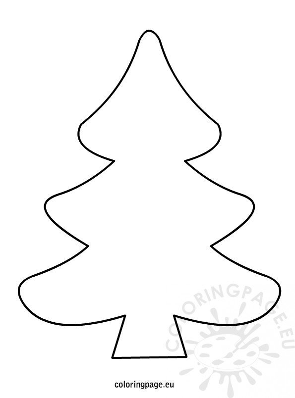 coloring christmas tree black and white tree clipart black and white clipart best black christmas and coloring tree white