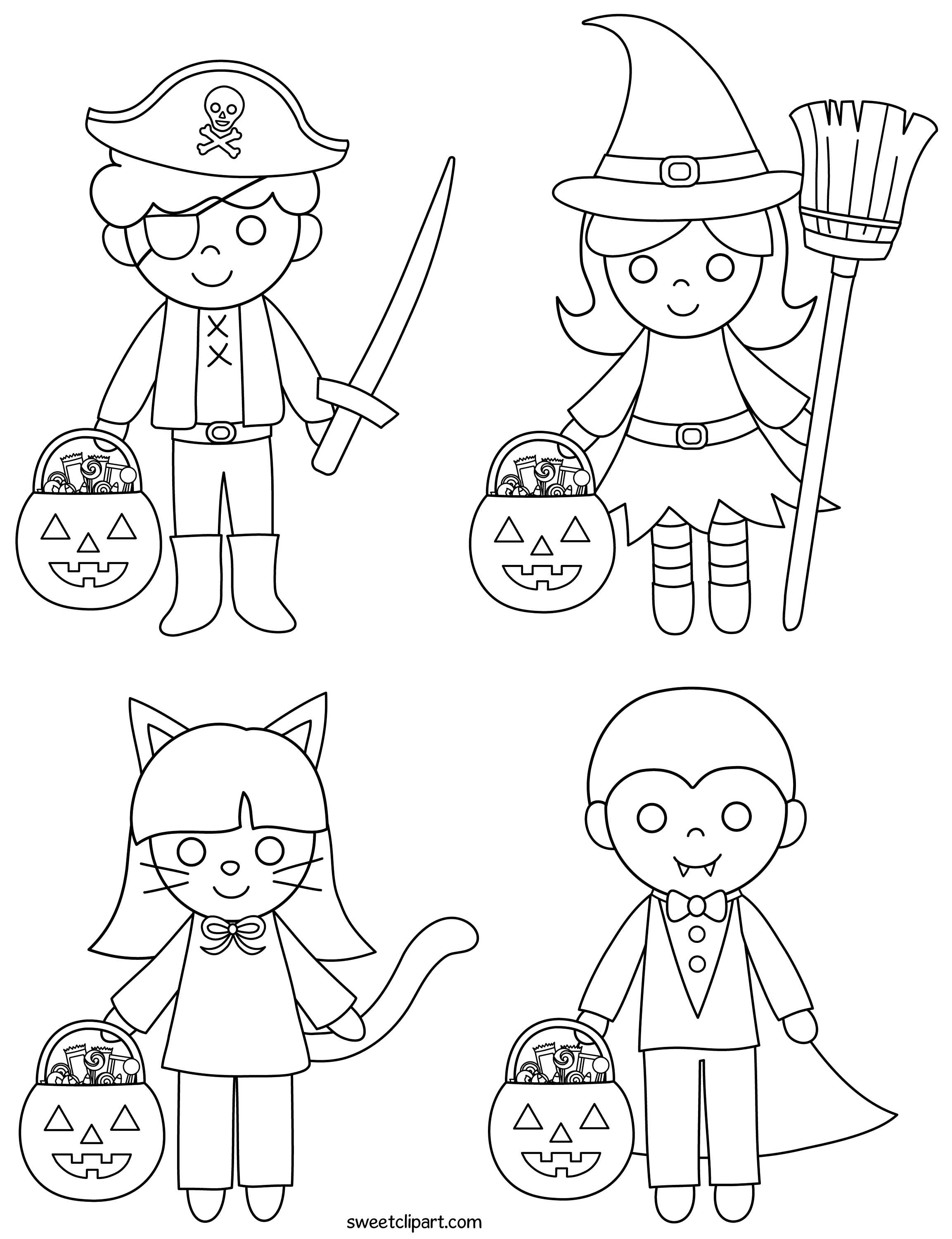 coloring clipart for kids halloween kids coloring page free clip art for coloring kids clipart