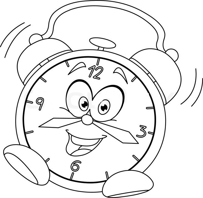 coloring clock for kids silly kids coloring pages coloring home coloring kids for clock