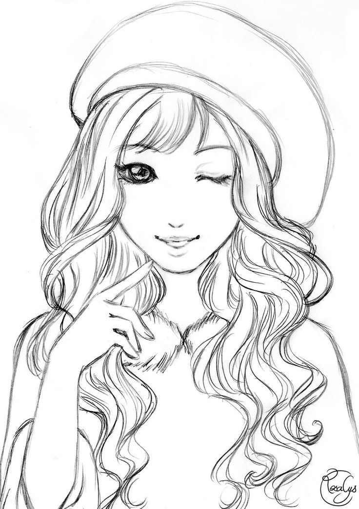 coloring cute girl 8 anime girl coloring pages pdf jpg ai illustrator girl coloring cute