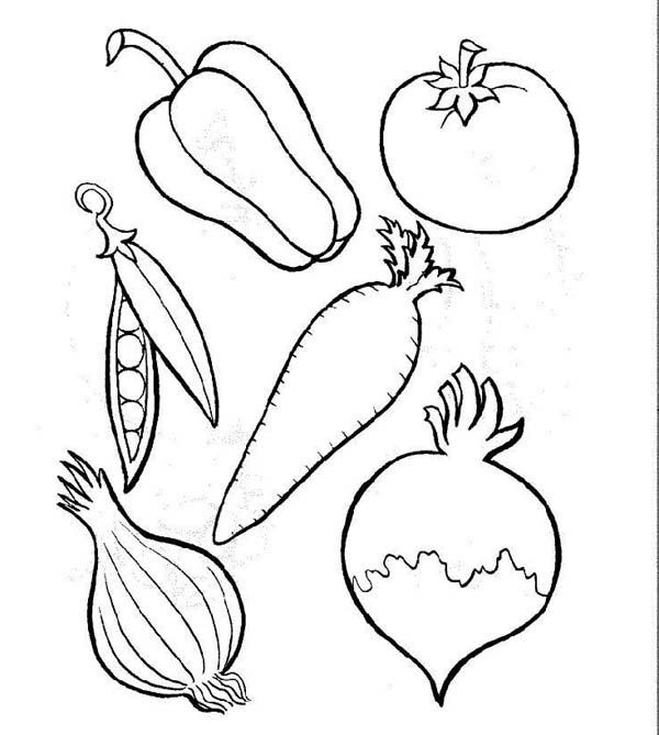 coloring different fruits fruits and vegetables coloring pages getcoloringpagescom fruits coloring different