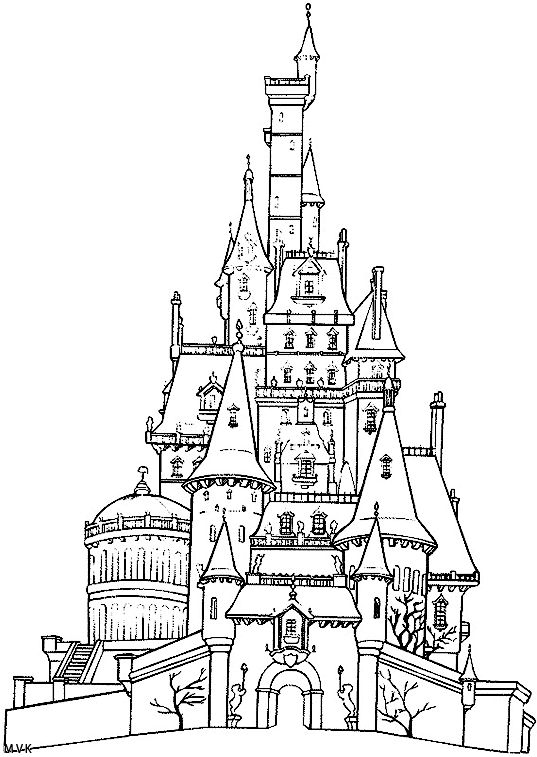 coloring disney castle mega coloring pages in 2020 disney coloring pages coloring disney castle