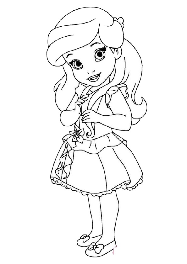coloring disney princess baby baby princess coloring pages to download and print for free princess coloring baby disney