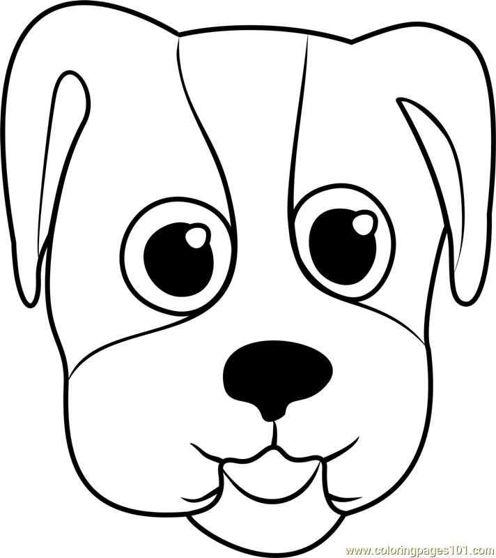 coloring dog face beagle puppy face coloring page free pet parade coloring coloring dog face