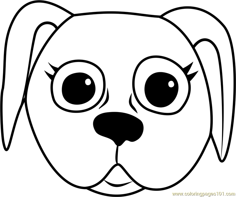 coloring dog face cute dog face coloring page dog coloring pages org find dog face coloring
