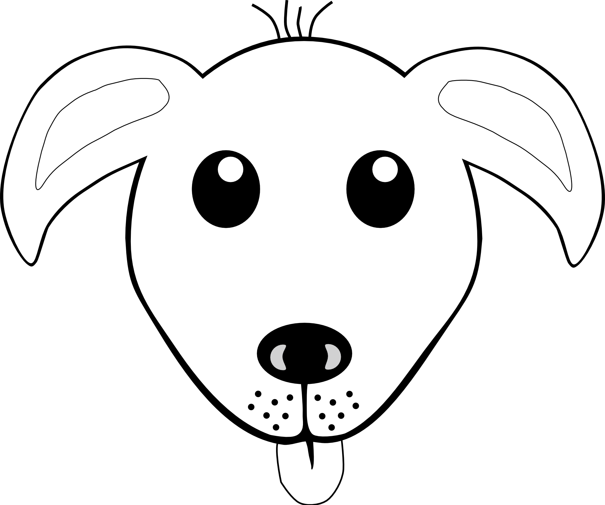 coloring dog face danish pointer puppy face coloring page free pet parade dog coloring face