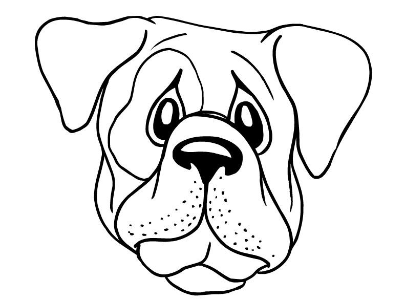 coloring dog face dog face coloring page coloring home coloring face dog