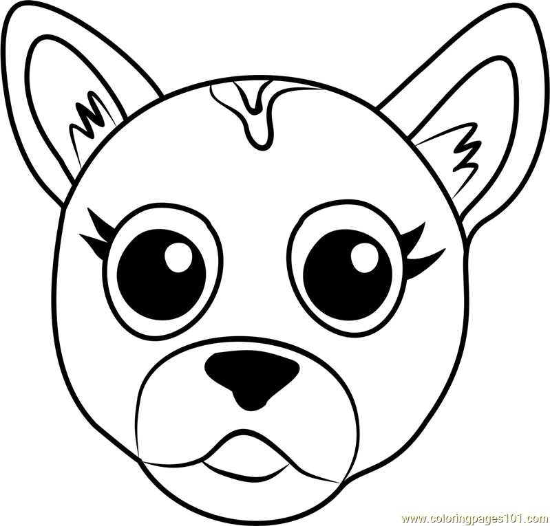 coloring dog face dog face coloring pages surfnetkids coloring face dog