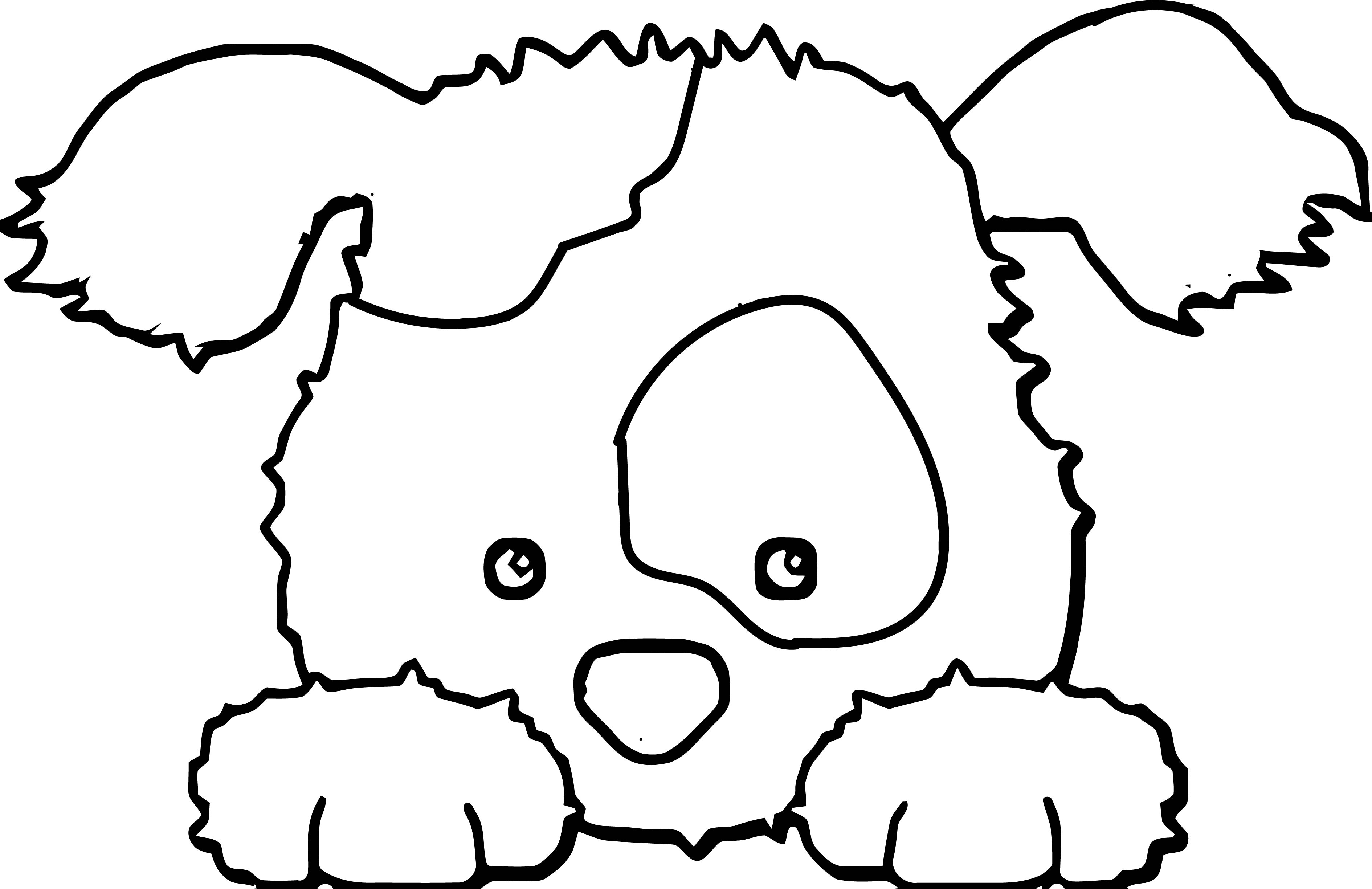 coloring dog face puppy dog face drawing at getdrawings free download face coloring dog
