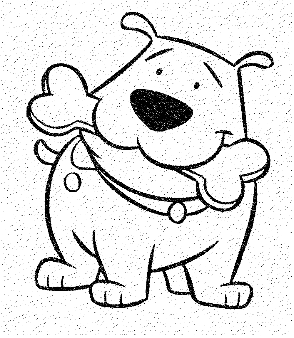 coloring dog for kids dog coloring pages for kids print them online for free for coloring kids dog
