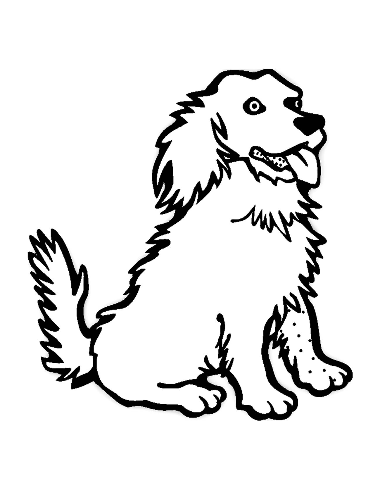 coloring dog for kids dog to color for children dogs kids coloring pages kids dog for coloring