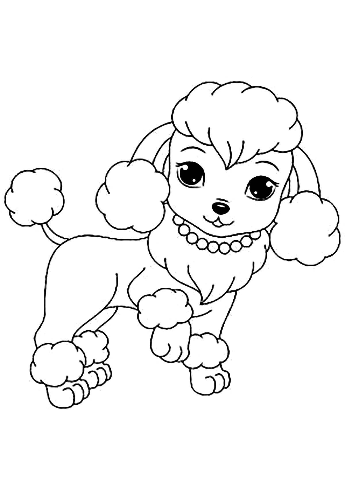 coloring dog for kids sad puppy coloring pages at getcoloringscom free dog for kids coloring
