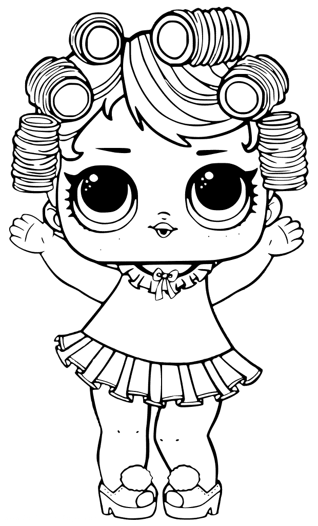 coloring dolls 30 free printable lol surprise doll coloring pages dolls coloring