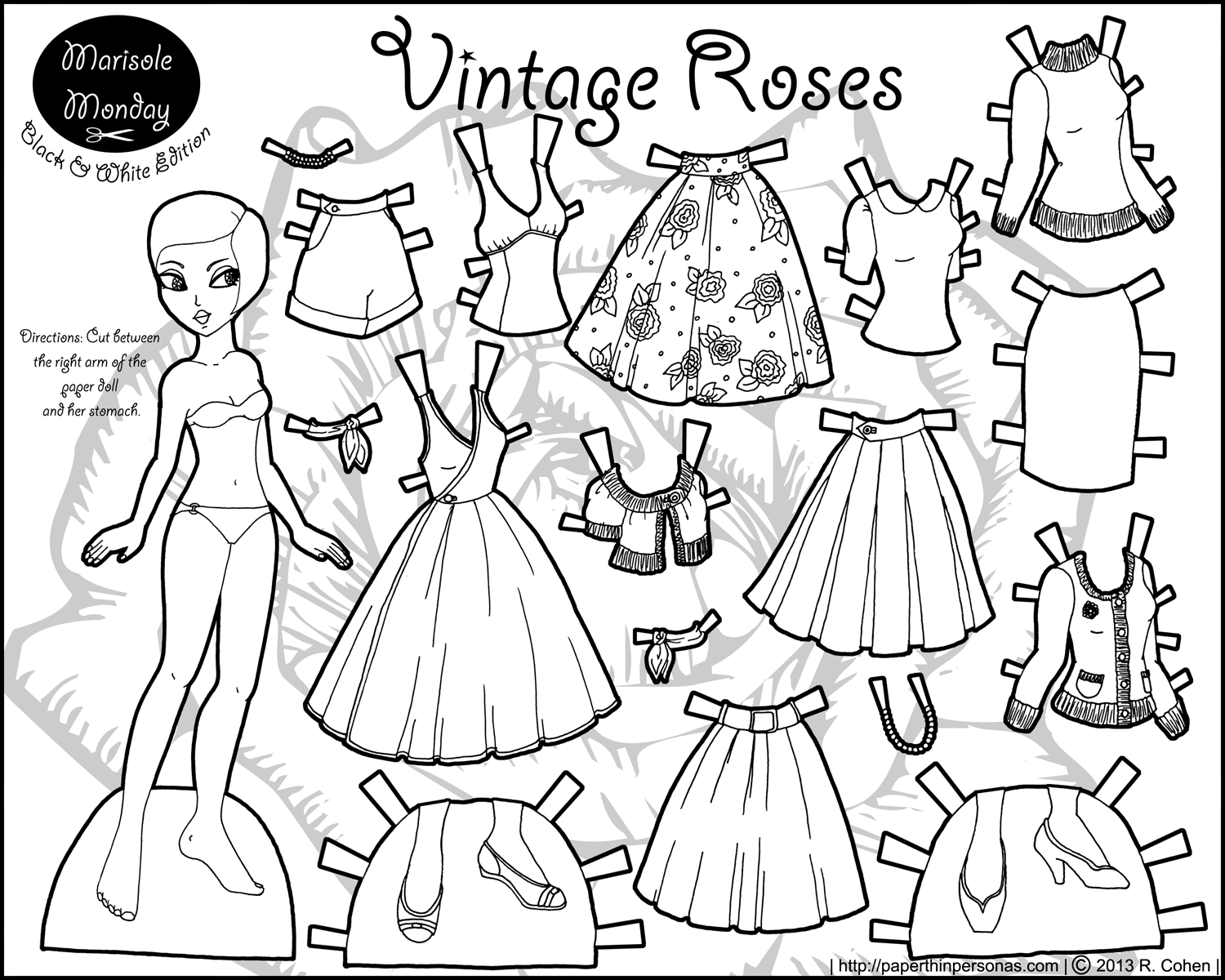 coloring dolls free printable paper doll templates coloring dolls