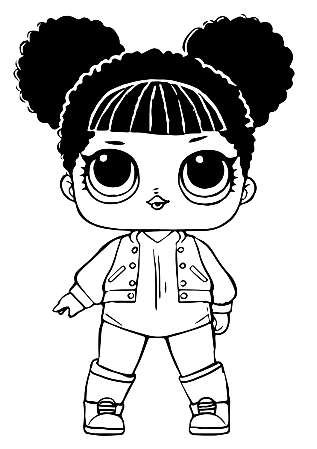 coloring dolls lol surprise dolls coloring pages print them for free dolls coloring