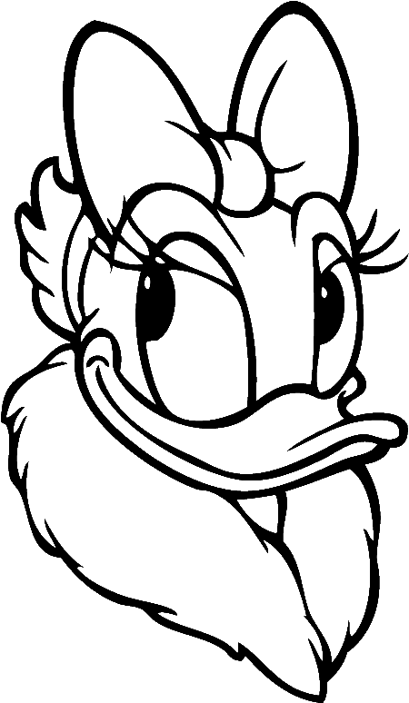 coloring duck clipart duck coloring pages for kids preschool and kindergarten coloring duck clipart
