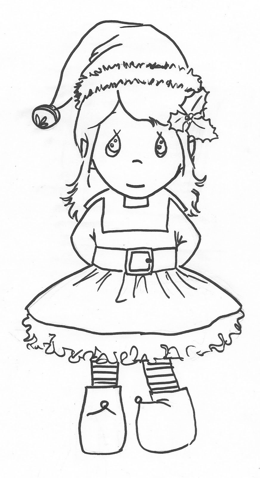 coloring elf christmas cute elf coloring pages coloring home coloring elf christmas