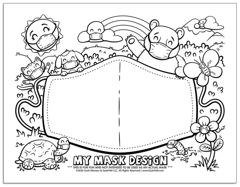 coloring face mask clown mask coloring page free printable coloring pages mask face coloring