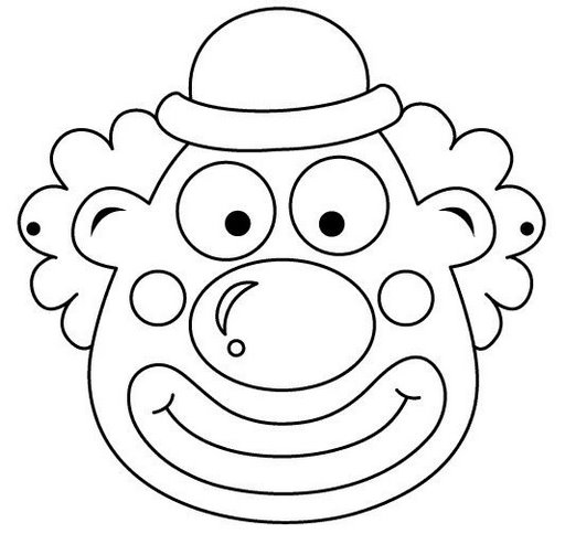 coloring face mask craftsactvities and worksheets for preschooltoddler and mask face coloring