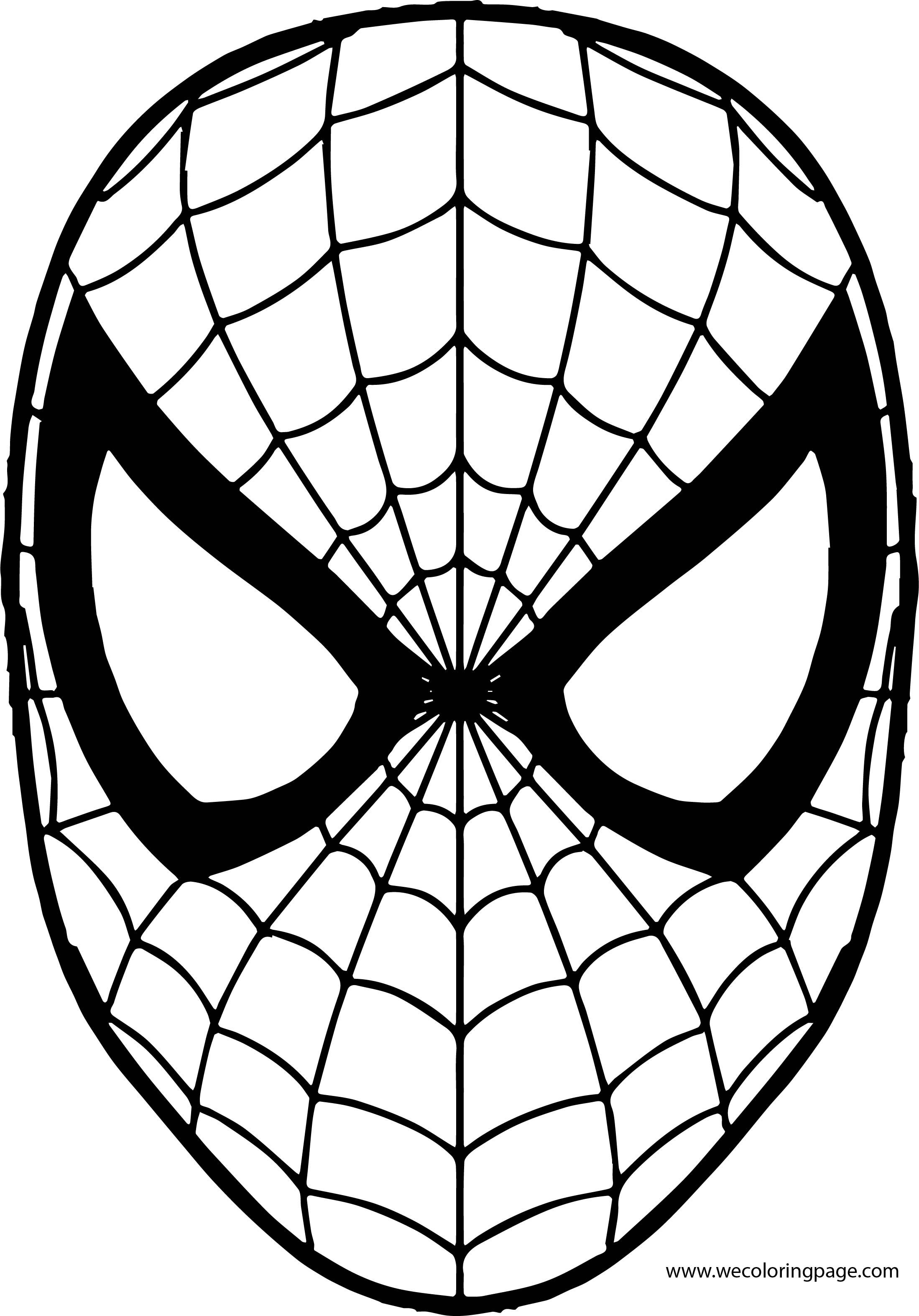 coloring face mask spiderman mask coloring page kreatívne coloring face mask