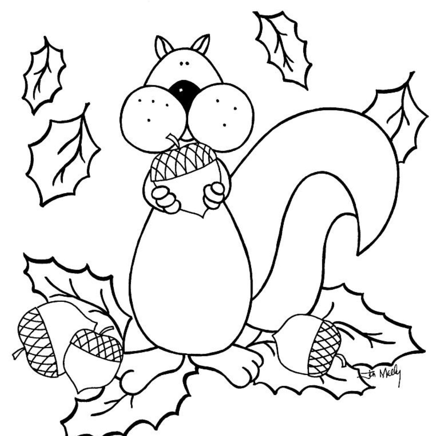 coloring fall pictures autumn scene with scarecrow coloring page free printable coloring pictures fall