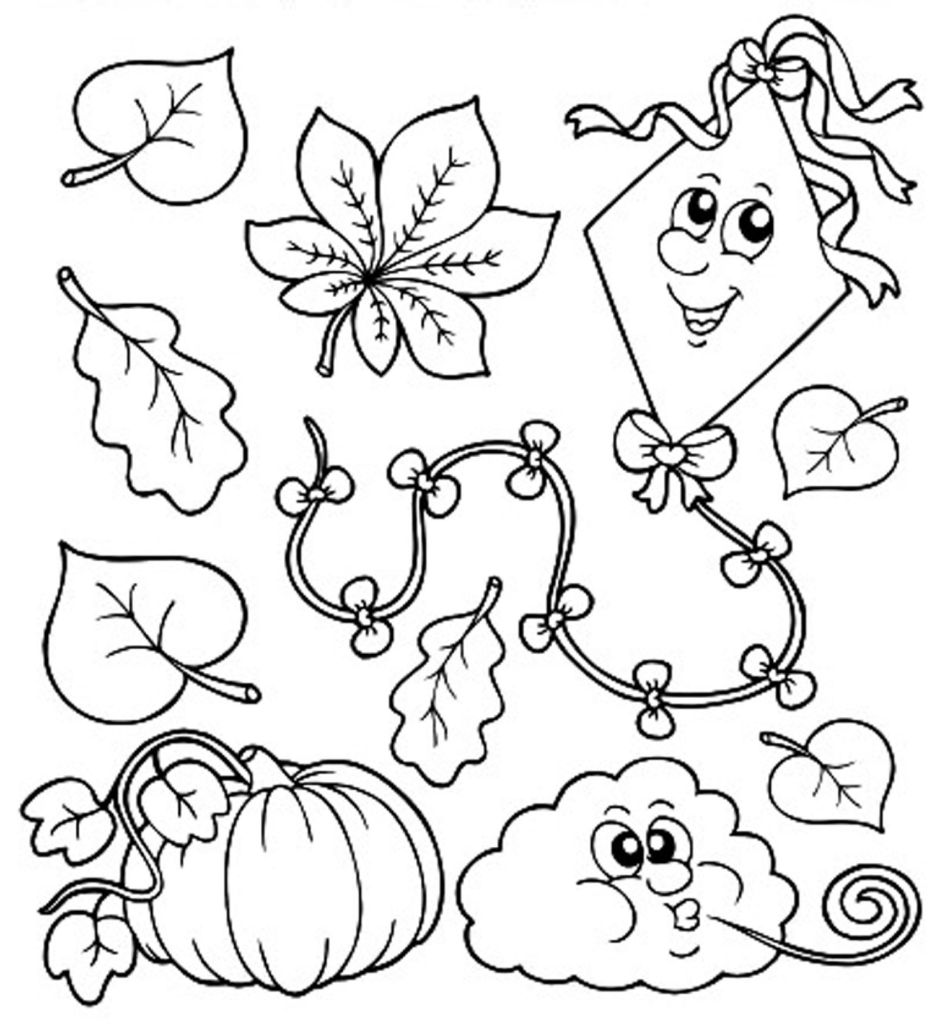 coloring fall pictures coloring town fall coloring pictures