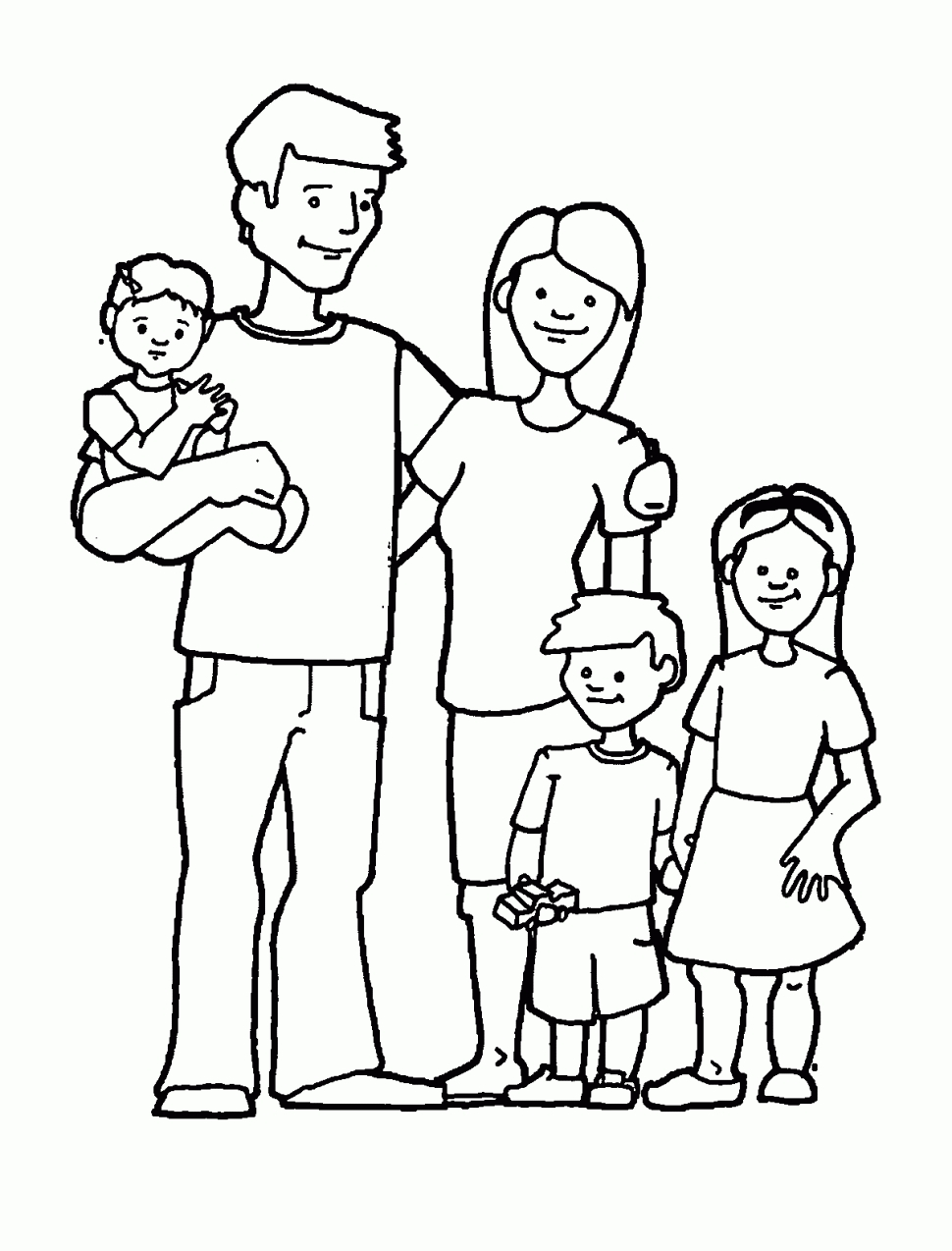 coloring family picture family coloring pages coloring kids coloring kids coloring picture family