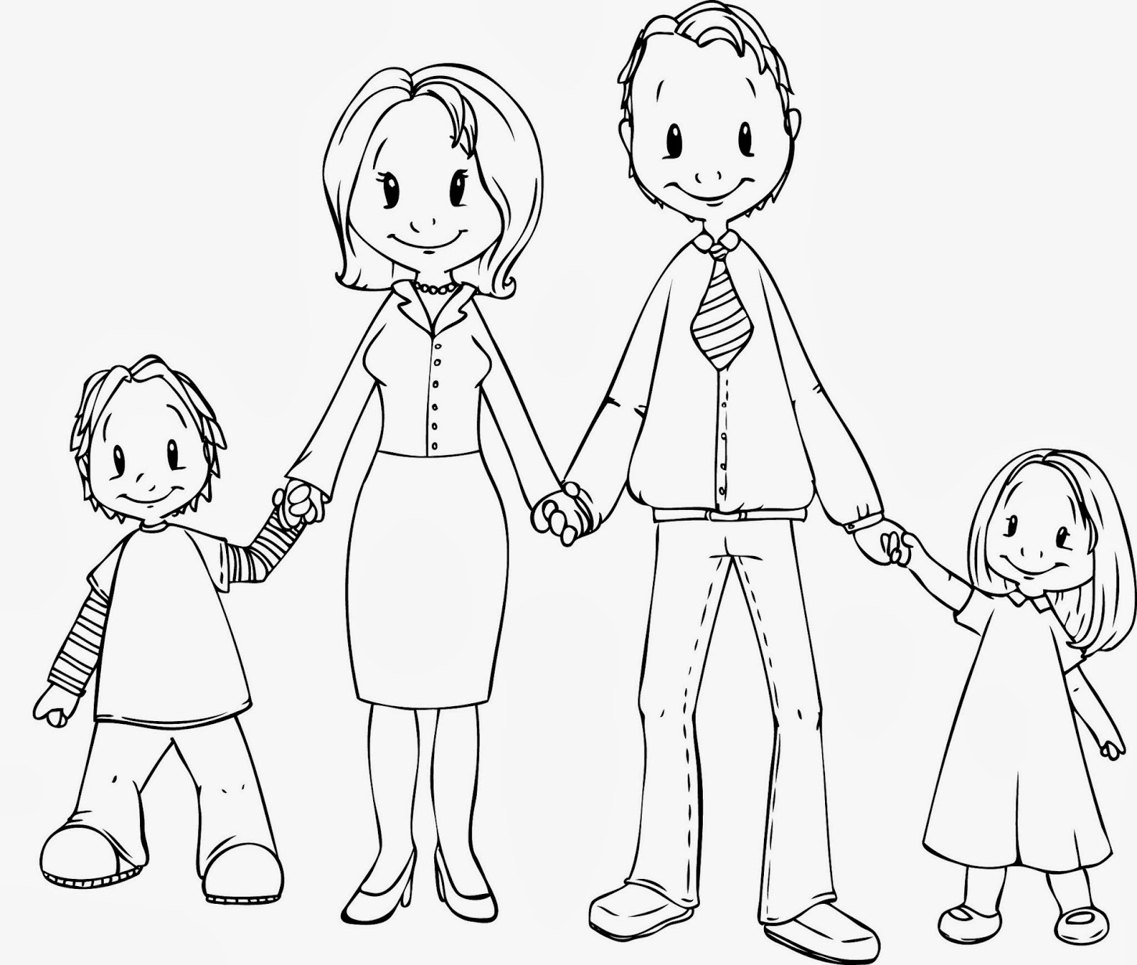 coloring family picture family colour picture coloring family
